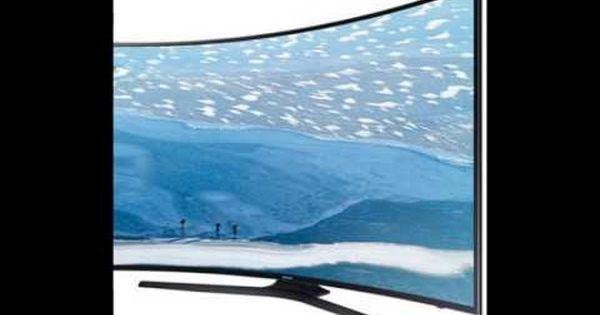 تلفزيون سامسونج 65 انش 4 كيه التر اتش دي منحني سمارت تي ف Ua65ku7350 Scenes Airplane View World