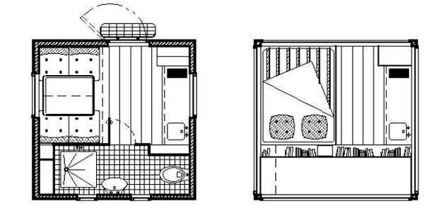 Tiny house micro maison micro chambre d 39 h tel for Auberge de jeunesse tadoussac maison majorique