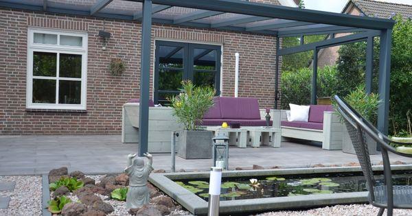 Veranda verandas patio porch roof terrace terras overdekt overkapping tuin - Tent tuin pergola ...