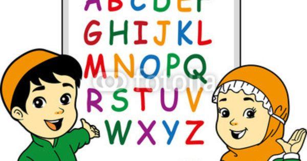 Islamic Kids Vector Carian Google Pinteres