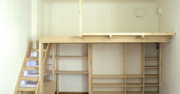 How To Build A Wooden Mezzanine Floor In A Bedroom