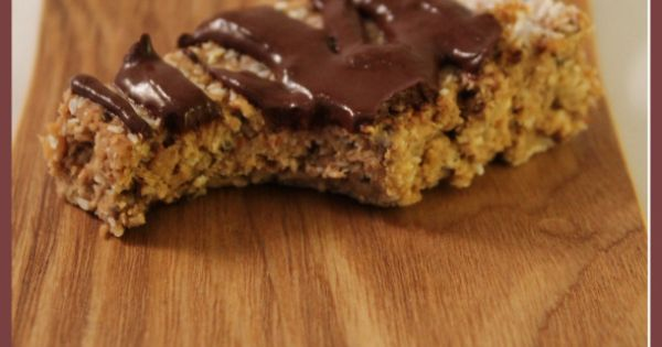 No Bake Chewy Protein Bars