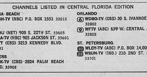 Central Florida Edition September 14 1968 Central Florida Florida Orlando Beach