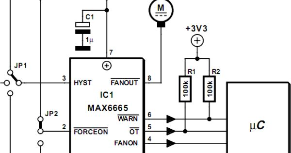 fan controller circuit diagram