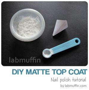 How Does Matte Top Coat Work And Diy Matte Top Coat Recipe Lab Muffin Matte Top Coats Top Coat Diy Lipstick