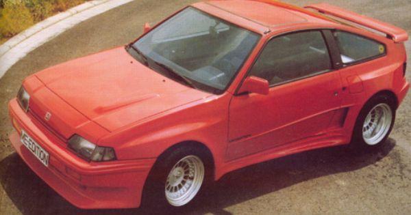 Honda Civic Crx By Me Design Mid 80 S