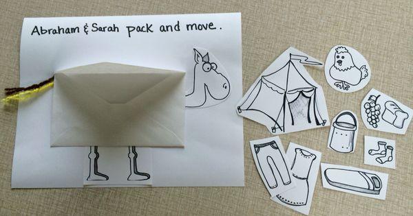 Abraham Amp Sarah Bible Craft Pack And Move Abraham