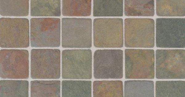 India Autumn Multicolor Mosaic Tumbled Slate Collection