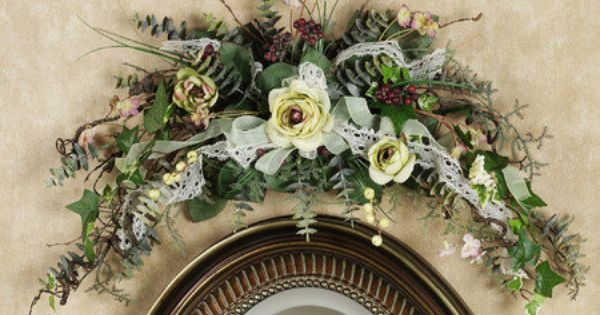 Over The Door Floral Swags You Might Also Consider