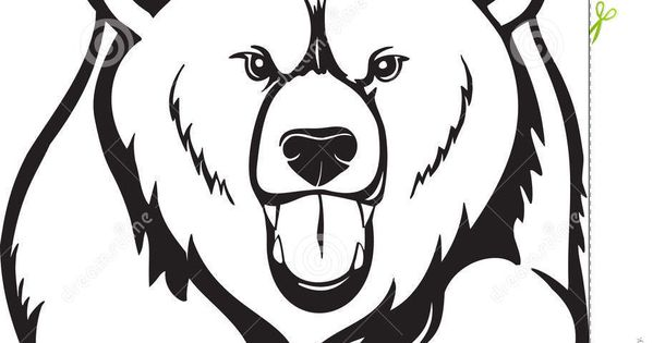 Animals For > Grizzly Bear Drawing