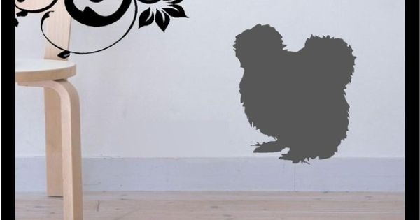 Silkie Chicken Silhouette Vinyl Decal By Bubbaanddoodle On