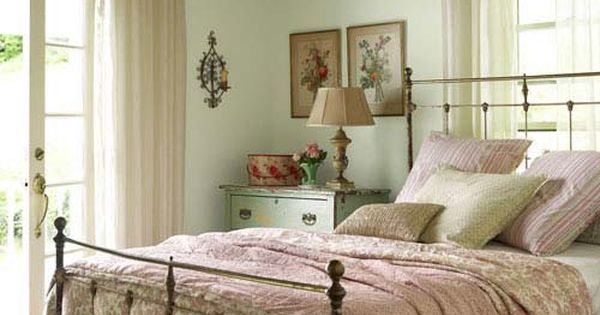 This for a guest room. Farmhouse Room: A light-filled space is warmed