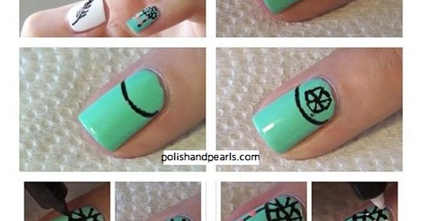 dreamcatcher nails design howto