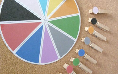 Montessori Color Sorting With Clothes Pins Kids