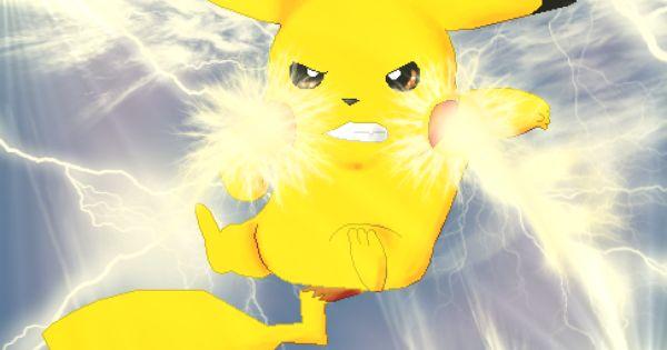 pikachu lightning atta...