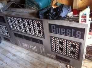 Scoreboard For Sale 129 Vintage Nevco Basketball Scoreboard For Sale In Athens Ohio Basketball Scoreboard Scoreboards Scoreboard