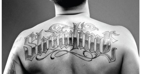 Anthony pettis tattoo