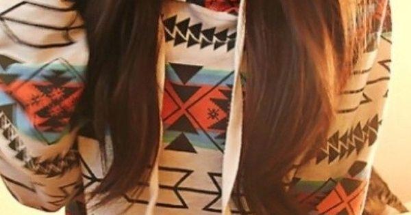#Hippie Fashion Beauty Hair Sweater Winter Fall Indie LOVE LOVE LOOOOOVE.