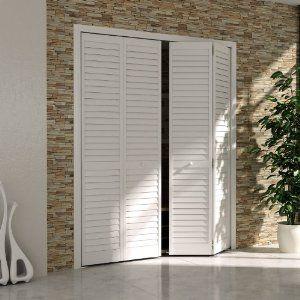 Louvered Bifold Closet Doors Google Search Innenturen Lamellenturen Und Holz Interieur