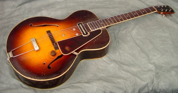 1936 Gibson Es 150 Guitar With Charlie Christian Pickup Guitar Vintage Guitars Gibson Guitars