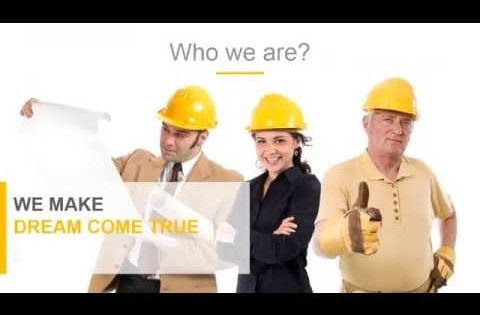 Construction Powerpoint Presentation Template  Youtube