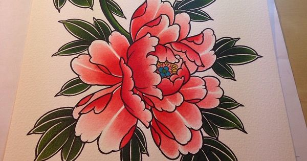 Tattoo random pinterest flower tattoos lotus flower tattoos and - Painting For A T Shirt Blackgardentattoo