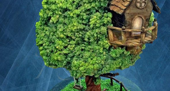 Treehouse Cake By Stickysponge Cakes Amp Cake Decorating