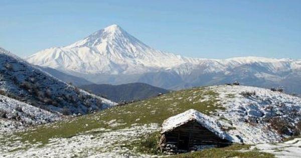 Mount Damavand Iran Islamic Countries The Shah Of Iran Scenic Beauty