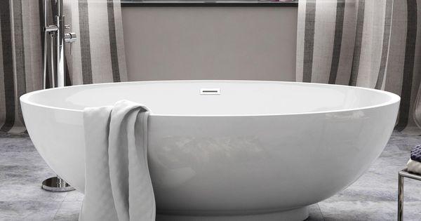 Modern Baths Traditional Bathtubs Acrylic Bath
