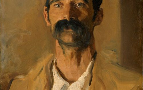 'A Sicilian Peasant' :: by John Singer SARGENT (1856-1925) - American artist