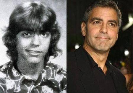 Celebrities when they were young and now