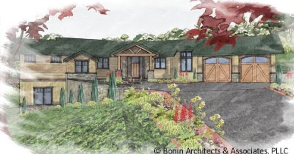 Post and beam timber frame blog one story house plans for One story timber frame house plans