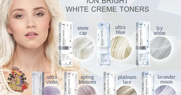 Shopee In 2020 White Toner Toning Blonde Hair Toner For Blonde Hair