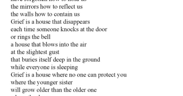 Grief Is A House Jandy Nelson The Sky Is Everywhere With Images
