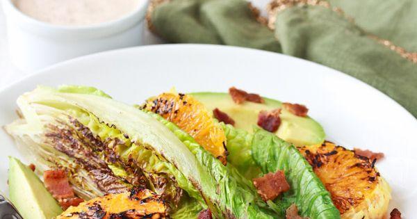 Buttermilk dressing, Romaine salad and Salads on Pinterest