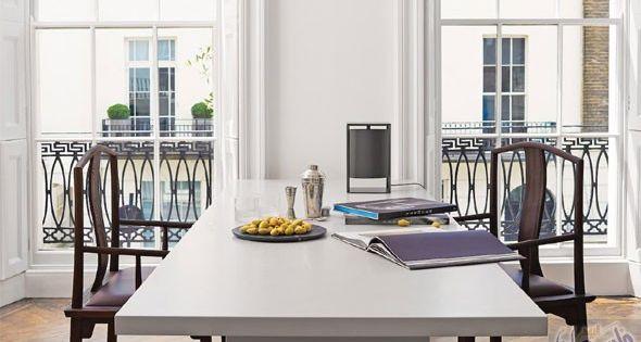 استكشف معنى البساطة في ديكور منزل المصمم الفرنسي غاليوم آلان في لندن French Interior Interior Design London Townhouse