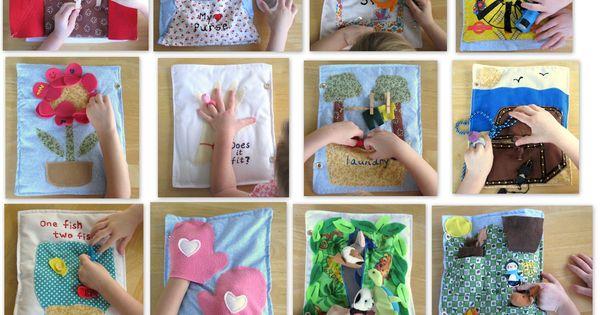Compleet quietbook, hele leuke ideeën!!