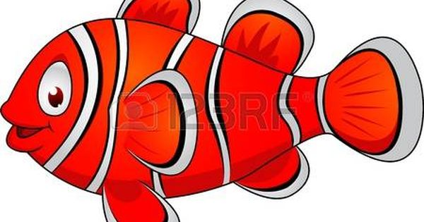 Collection Of Colorful Tropical Fish Clown Fish Cartoon Clown Fish Tropical Fish