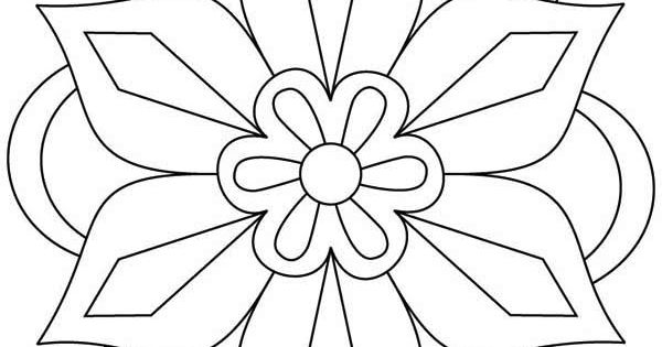 Awesome Picture Of Rangoli Coloring Page Coloring Pages