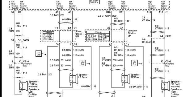 2003 Chevy Malibu Radio Wiring Diagram