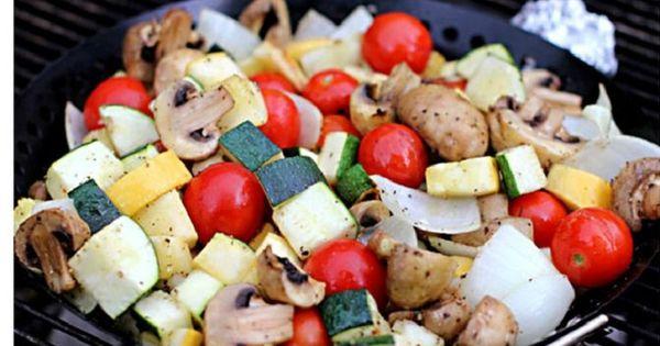 Easy Grilled Vegetables   Recipe   Best Grilled Vegetables, Grilled ...