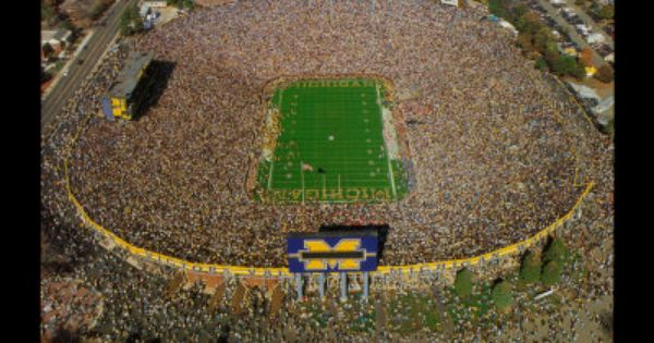 Michigan Stadium - University of Michigan Football Art Print at AllPosters.com
