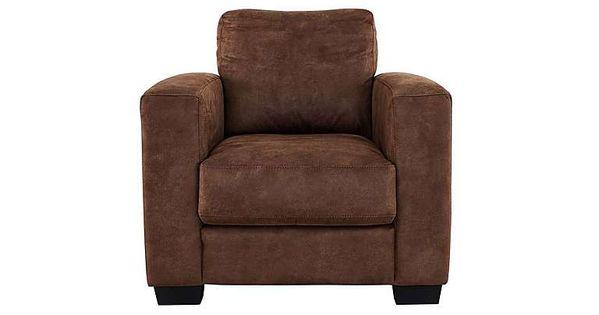 Furniture Village Dante Fabric Recliner Armchair Elegant