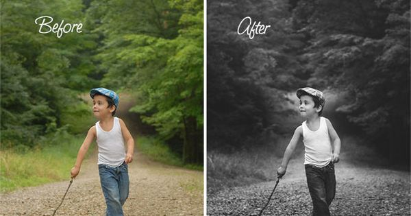 Learn how to edit your B photos with a matte look. Beautiful