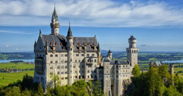 Romantische Strasse Wahrhaft Koniglich Schloss Neuschwanstein Wohnen Garten Schloss Neuschwanstein Strasse Romantik