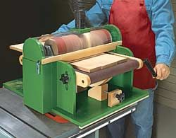 Build Your Own Free Thickness Sander From Your Tablesaw Plans