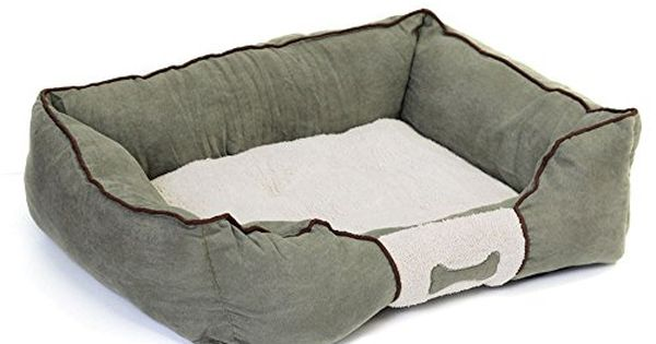 Suede Bone Pet Bed Warm Soft Cozy Green Pad Mat Crate Pillow Dog Puppy Large Click Image To Review More Details Note Amaz Dog Bed Pet Bed Dogs And Puppies