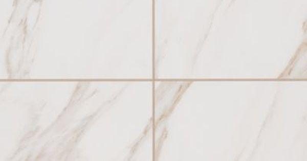 Mohawk Bertolino Bianco Cararra 10 X 14 Mohawk Flooring Porcelain Flooring Tile Floor