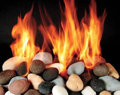 All About Gas Fireplaces - Replacing The Logs In My Gas Burning Fireplace With Fire Crystals