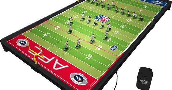 Nfl Deluxe Electric Football Advent Calendar Pinterest